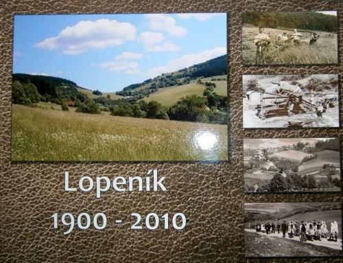 """Dotisk fotoknihy """"Lopeník 1900 – 2010"""""""