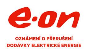 Troják a Kopánky – Oznámení o přerušení dodávky elektrické energie